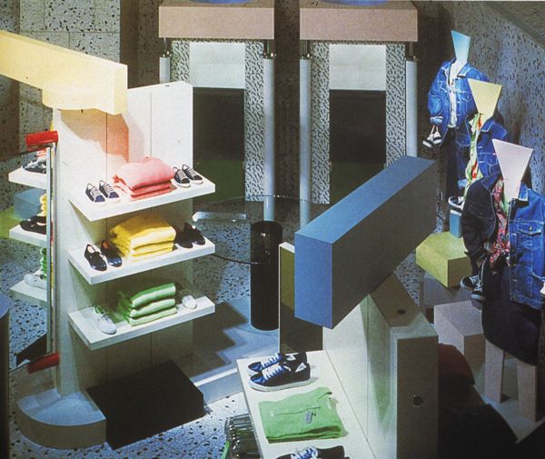 The Globule Designated Esprit Showrooms By Sottsass